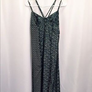 Women's pattern maxi dress size XS
